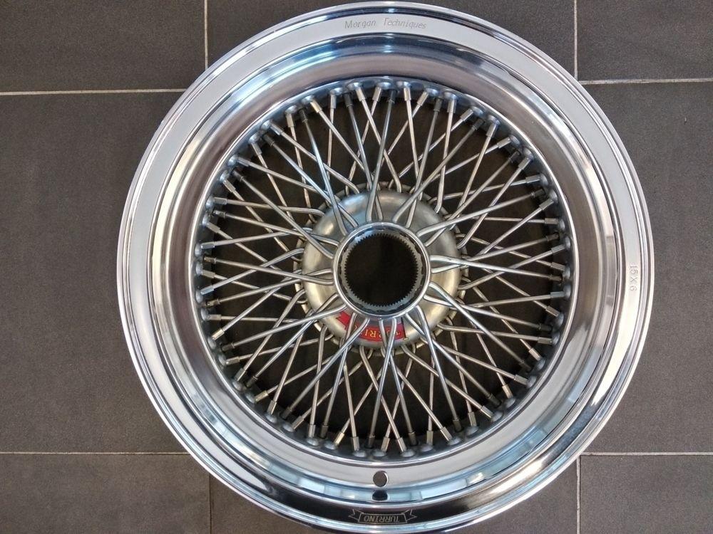 Turrino Wire Wheel - Alloy Rimmed