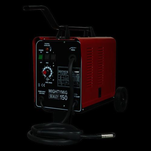 Professional Gas/No-Gas MIG Welder 150Amp 230V - Sealey - MIGHTYMIG150