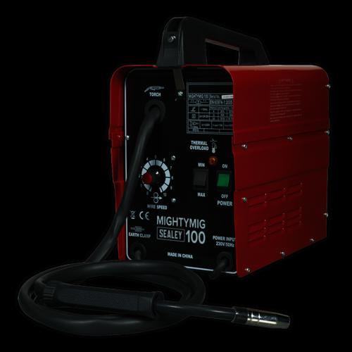 Professional No-Gas MIG Welder 100Amp 230V - Sealey - MIGHTYMIG100
