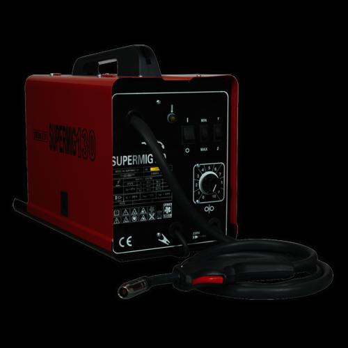 MiniMIG Welder 130Amp 230V - Sealey - SUPERMIG130