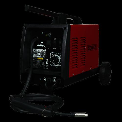 MIG Welder 140Amp 230V - Sealey - SUPERMIG140