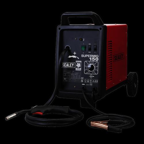 Professional MIG Welder 150Amp 230V - Sealey - SUPERMIG150