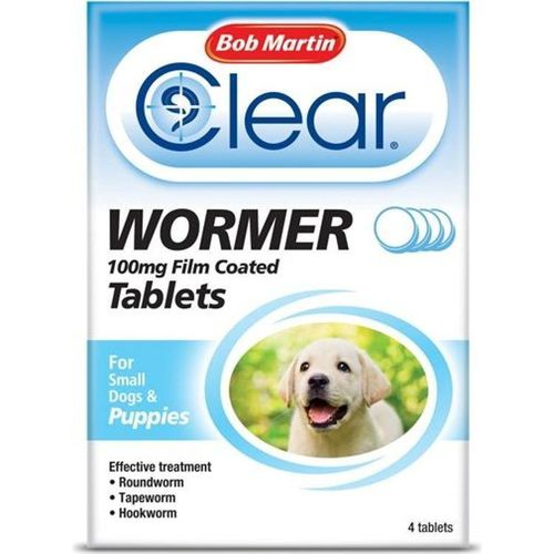 Bob Martin Clear Wormer for Small Dogs and Puppies