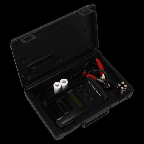 Digital Battery & Alternator Tester with Printer - Sealey - BT2003