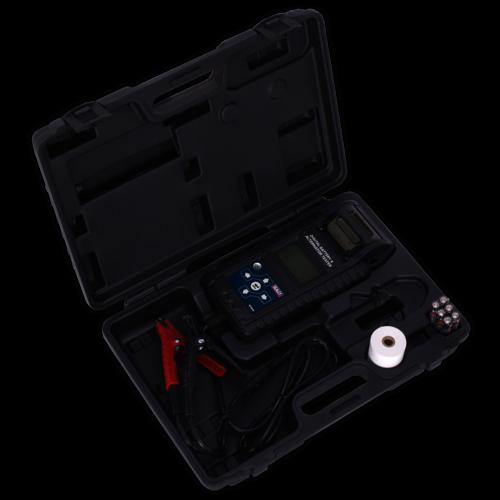 Digital Battery & Alternator Tester with Printer - Sealey - BT2015