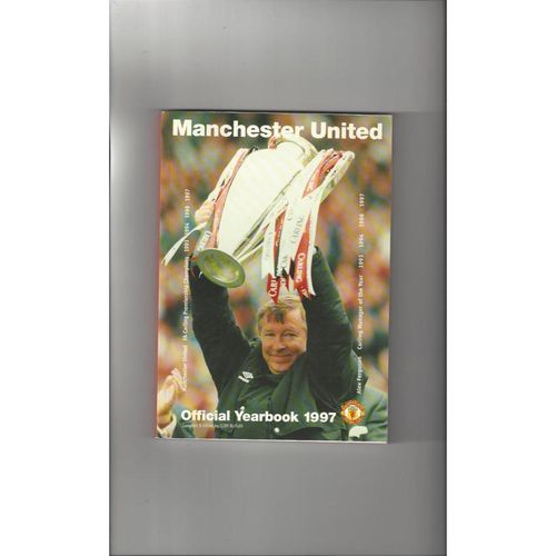 Manchester United Official Football Yearbook 1997