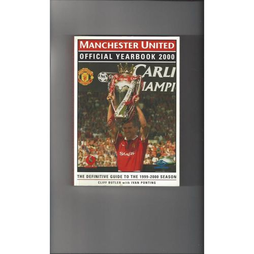 Manchester United Official Football Yearbook 2000