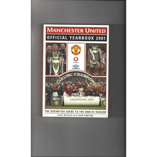 Manchester United Official Football Yearbook 2001