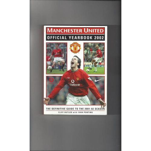 Manchester United Official Football Yearbook 2002