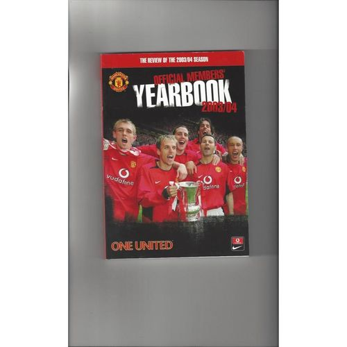 Manchester United Official Members Football Yearbook 2003/04