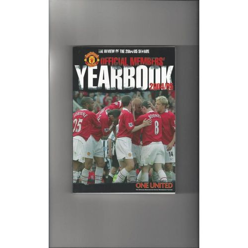 Manchester United Official Members Football Yearbook 2004/05