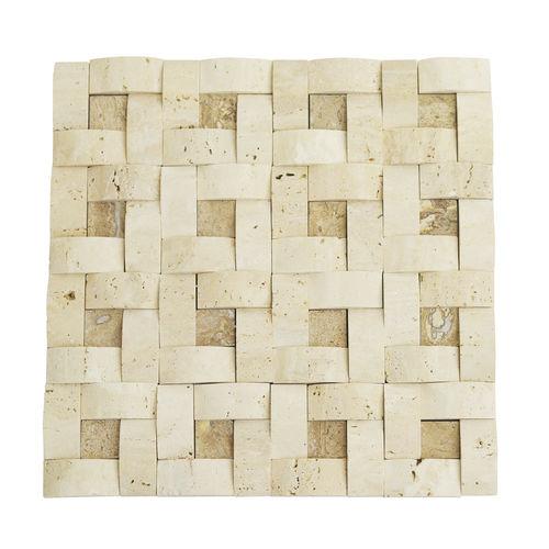 Basket Chiaro + Noce Mosaic