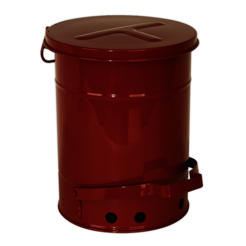 Oily Waste Can 22.7ltr - Sealey - OWC23