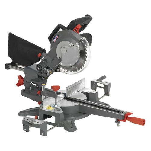Double Sliding Compound Mitre Saw Ø216mm - Sealey - SMS216