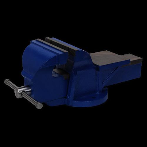 Vice 200mm Fixed Base Professional Heavy-Duty - Sealey - CV200XT