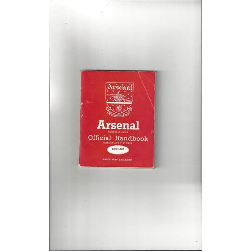 Arsenal Official Football Handbook 1961/62