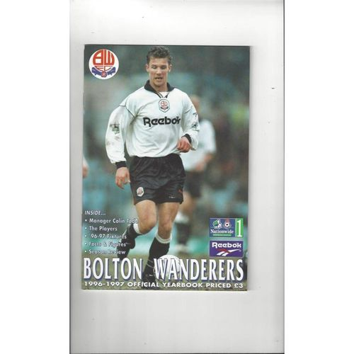 Bolton Wanderers Official Football Yearbook 1996/97