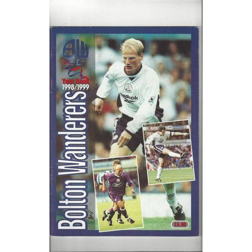 Bolton Wanderers Official Football Yearbook 1998/99
