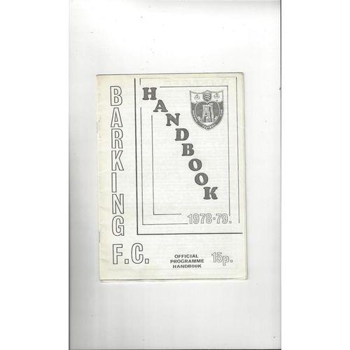 Barking Official Football Handbook 1978/79