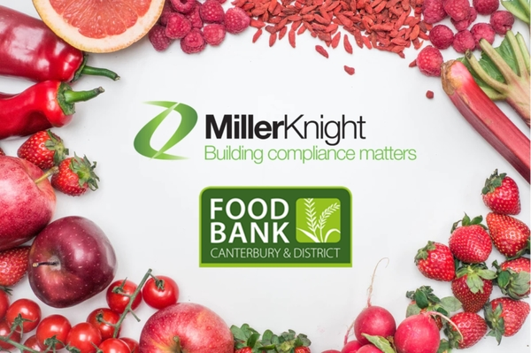 Miller Knight to Support Canterbury Food Bank!
