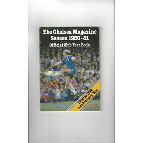 Chelsea Football Yearbook 1980/81