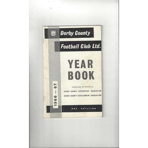 Derby County Official Football Yearbook 1966/67