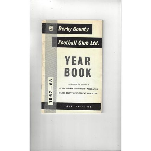 Derby County Official Football Yearbook 1967/68