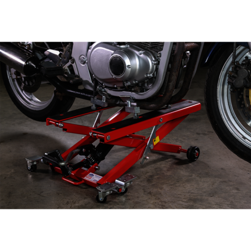 Motorcycle & Quad Scissor Lift 500kg Capacity Hydraulic - Sealey - MC4500