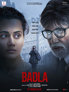 Badla: Amitabh Bachchan and Taapsee Pannu come together again for a crime thriller