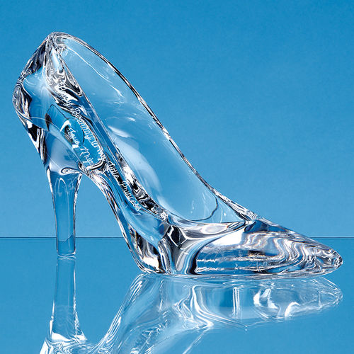 19.5cm Lead Crystal Stiletto Shoe