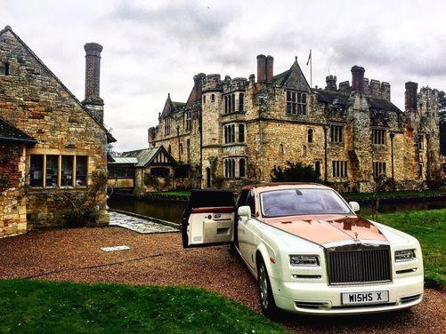 Rolls Royce Phantom EWB Series 2 (in Rose Gold)