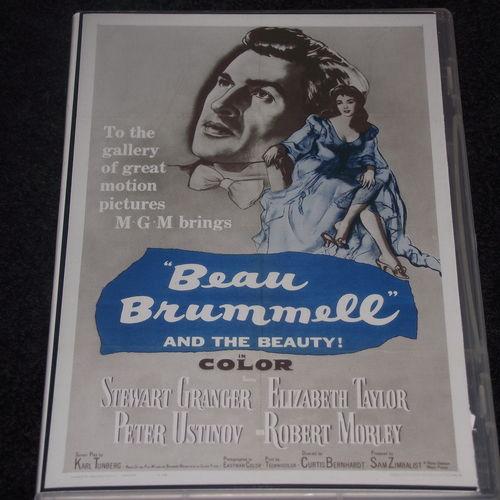 BEAU BRUMMELL 1954 DVD
