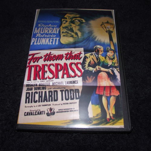 FOR THEM THAT TRESSPASS 1949 DVD