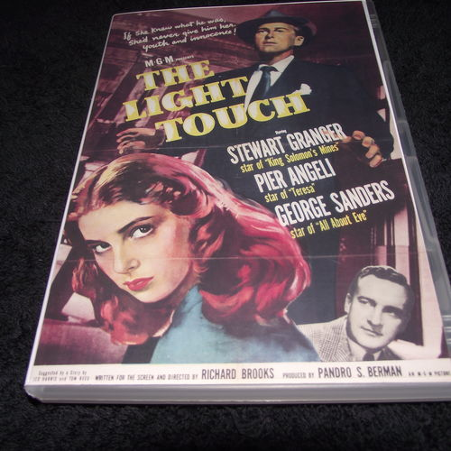 THE LIGHT TOUCH 1951 DVD