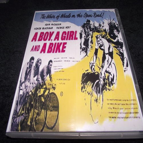 A BOY, A GIRL AND A BIKE 1949 DVD