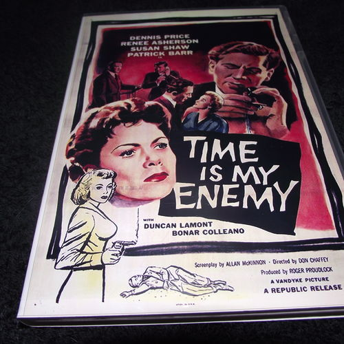 TIME IS MY ENEMY 1954 DVD