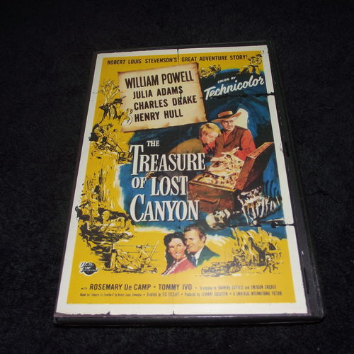 THE TREASURE OF LOST CANYON 1952 DVD