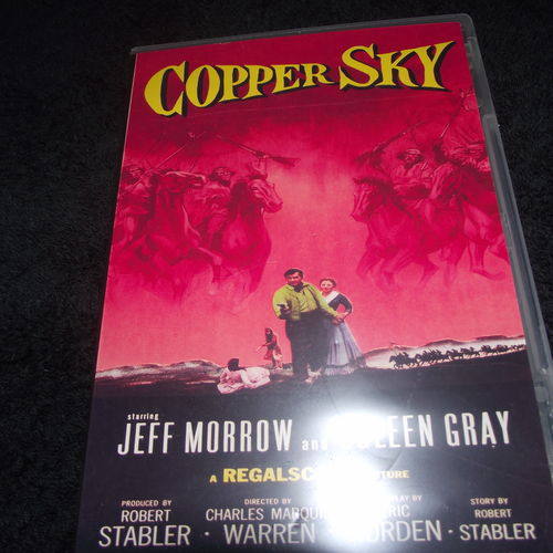 COPPER SKY 1957 DVD