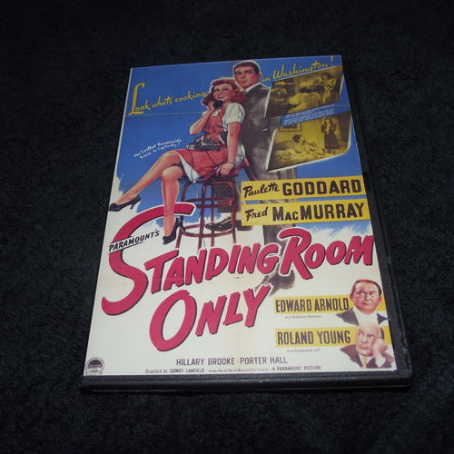 STANDING ROOM ONLY 1944 DVD