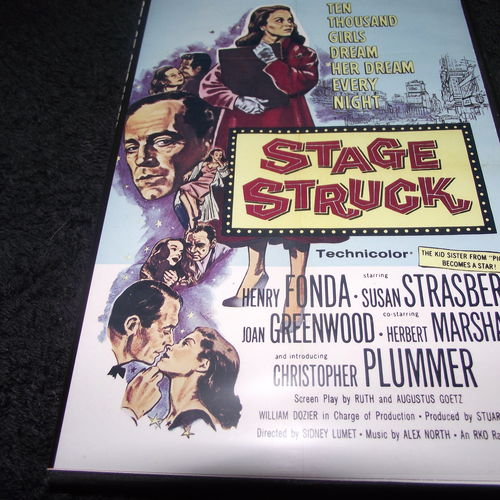 STAGE STRUCK 1958 DVD