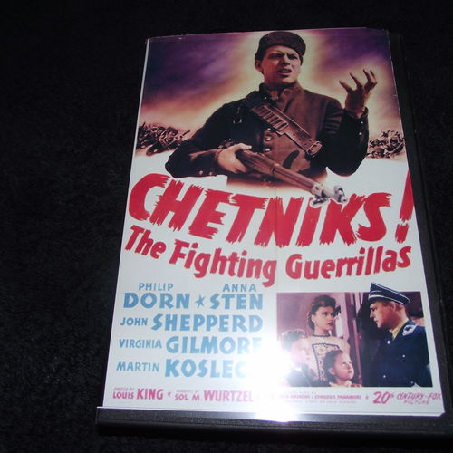 CHETNIKS 1943 DVD AKA THE FIGHTING GUERRILLAS