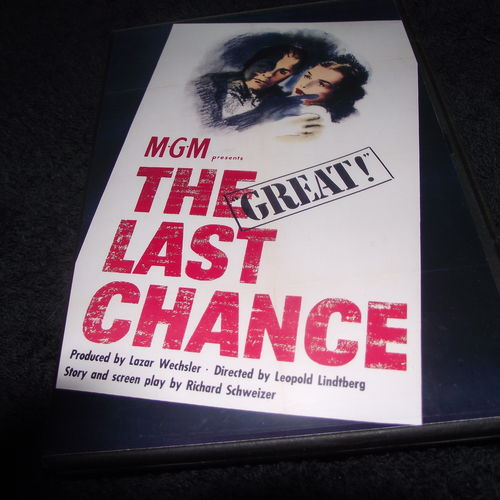 THE LAST CHANCE 1945 DVD