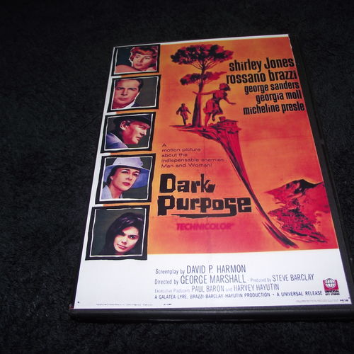 DARK PURPOSE 1964 DVD
