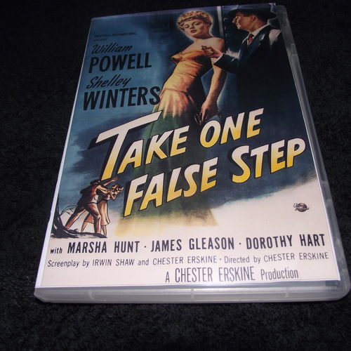 TAKE ONE FALSE STEP 1949 DVD