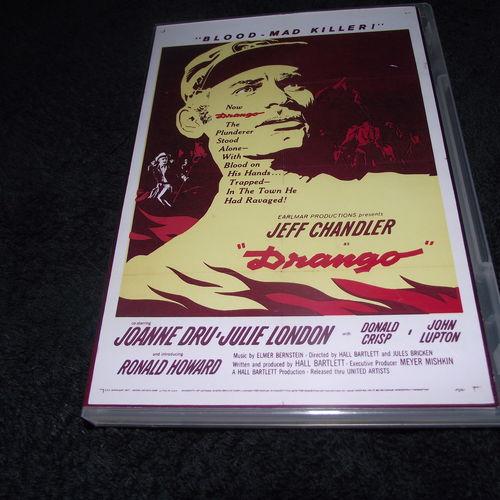 DRANGO  1957 DVD