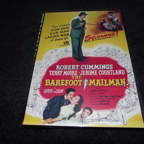 THE BAREFOOT MAILMAN 1951 DVD