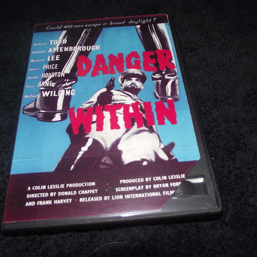 DANGER WITHIN 1959 DVD