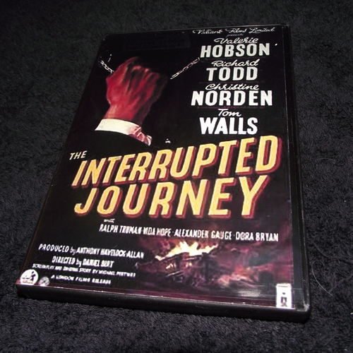 THE INTERRUPTED JOURNEY  1949 DVD