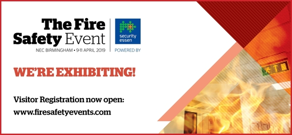 Miller Knight to exhibit at The Fire Safety Event this April!