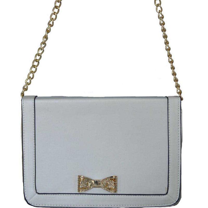 Fashion Designer Handbag white